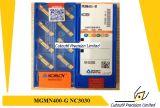 Korloy Mgmn200-M Nc3020 Pieza inserta que muele para la pieza inserta del carburo de la herramienta que muele