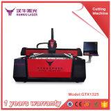 Máquina de estaca da gravura do laser da fibra do metal de folha