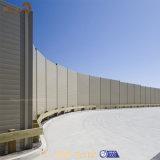 Frontière de sécurité en aluminium de jardin de l'installation facile extérieure spéciale WPC de modèle