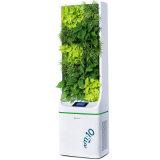 Малошумный стоящий очиститель воздуха с HEPA, отрицательным генератором иона и UV светильником для живущий комнаты
