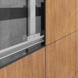 Panneaux de mur décoratifs en stratifié d'isolation de mur extérieur de pression