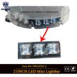 Nieuwe LEIDENE van de Lens van het Ontwerp Hoge Heldere Veiligheid MiniLightbar (tbg-503le-3)