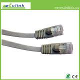 CAT6 FTP 패치 케이블 CAT6 평면 케이블 500 MHz