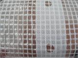 El cubrir reforzado tela fuerte del andamio del claro del polietileno de la gasa de vuelta del HDPE de la calidad
