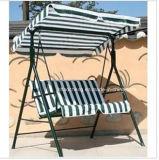 Oscillation pliable de plage de jardin extérieur avec le tissu de polyester