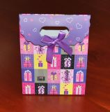 Angepasst Handle Paper Gift Bag Sterben-Cut mit Ribbon