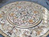 Het marmeren Medaillon/Waterject van het Mozaïek van de Steen voor BinnenBevloering