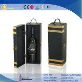 Solo portador de cuero del vino de la PU (6048)