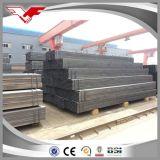 Do quadrado preto padrão do carbono de ASTM tubulação de aço