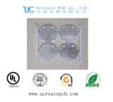 Tarjeta de circuitos impresos rígida del PWB del aluminio para el LED