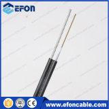 cabo de fibra óptica Não-Blindado Self-Supporting do fio 2-24core de aço (GYXTC8Y)