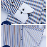Camisa de alineada del Mens de la venta al por mayor 2016/lo más tarde posible diseño de la camisa para el hombre
