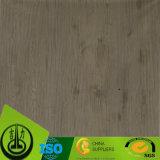 Papel impreso decorativo del grano de madera para los muebles