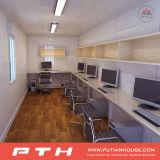 Chambre préfabriquée de conteneur pour la salle de séjour/dortoir/bureau
