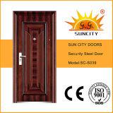 De calidad superior económico único Puertas de acero (SC-S039)