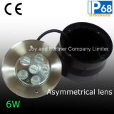 Waterdichte 6W LED Swimming Pool Light met Asymmetrical Lens (jp94761-ZOALS)