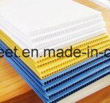 Hoja acanalada material de los plásticos de Coroplast PP Correx