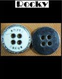 Oeko 기준을%s 가진 Coppe 빨간 단추는, 자유롭게 니켈 도금을 하거나 단추를 금속을 붙인다