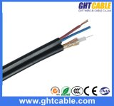 75ohm CATV Communication RG6 Coaxial Cable mit 2 Power Wires