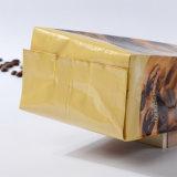 平底のガセットは立てる無光沢Ziplock (ML-E19)が付いているジッパーのロックまたはプラスチックパッキング袋が付いているアルミニウムによって薄板にされるコーヒー袋を