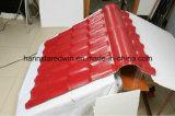 Mattonelle di tetto di plastica spagnole della resina sintetica dell'asa