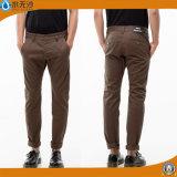 Anti-Pilling pantalones largos del dril de algodón para hombres (HQ5006)