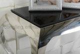 現代上のガラスコンソールテーブルの家具かコーヒーテーブル