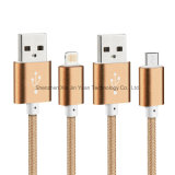 China Supplier für Nylon Covered USB Charging Cable