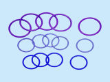 Hoge druk Silicone O Rings met Different Materials