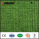 Estera falsa artificial natural de la hierba del jardín del PPE del verde de la fábrica de China para la venta