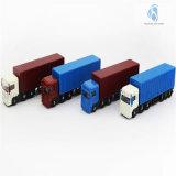 1: L'automobile di modello di plastica riportata in scala 100, muore il camion del contenitore del getto