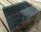 Granito de Ucrania, azulejos del granito y azulejos de suelo azules galácticos del granito para el suelo