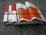 Carpeta de fichero de los anillos de la carpeta 6 de la agenda del color del contraste con el bucle de la pluma
