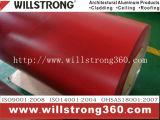 il colore di 0.21mm ha ricoperto la bobina di alluminio di rivestimento del poliestere