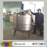 tanque refrigerando 1000L e de aquecimento Jacketed com aquecimento de vapor