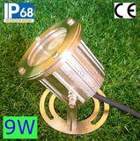 Indicatore luminoso subacqueo del raggruppamento dell'acciaio inossidabile 9W RGB LED (JP90034)