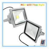 reflector de 50W RGB LED para la iluminación del puente