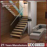 La escalera de madera de interior diseña (DMS-8009)