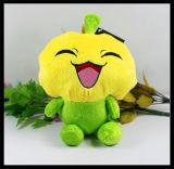Le bébé de la CE badine la poupée animale de jouet de singe de chien de chat de peluche velue