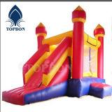 Tissus enduits de PVC de ventes chaudes pour le château plein d'entrain