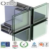 Profilo di alluminio/di alluminio di architettura per la parete divisoria e la finestra (RAL-595)