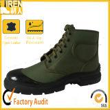 O treino militar barato do preço da forma nova de China calç sapatas de lona militares
