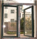 熱は側面のハングさせたアルミニウム開き窓を絶縁した