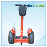 72V Voltage y Ce Certification 30-35 kilómetros Range Per Charge Electric Chariot Self Balance Scooter con Handlerbar
