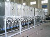 Secador horizontal da base fluida da série de Xf para matérias- primas químicas