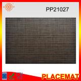 Caboteur tissé par PVC imperméable à l'eau de Brown Placemat