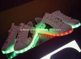 Ботинки самых последних ботинок светящие СИД света СИД плоских (FF326-9)