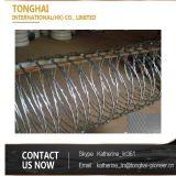 高品質単一のコイルによって電流を通されるかみそりの有刺鉄線