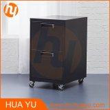 Armário de armazenamento móvel do carbono de 2 gavetas para o quarto, a sala de visitas ou o escritório