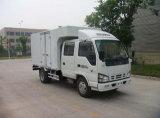 Isuzu 4X2 5 Ton Mini Van Cargo Truck met de Dubbele Cabine van de Rij
